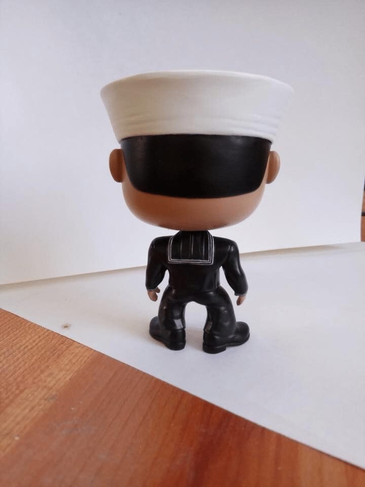 Funko Style Bobble Head - Male Dress Blue Sailor | Pitch and Rudder