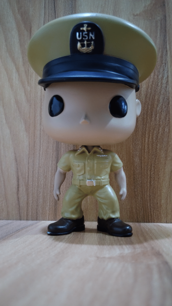 Funko Style Bobble Head Male Navy Chief Petty Officer