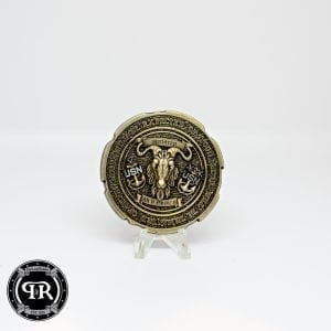 Pitch and Rudder Challenge Coin // Challenge Coins // Custom Challenge coins // Navy Chief Challenge Coins