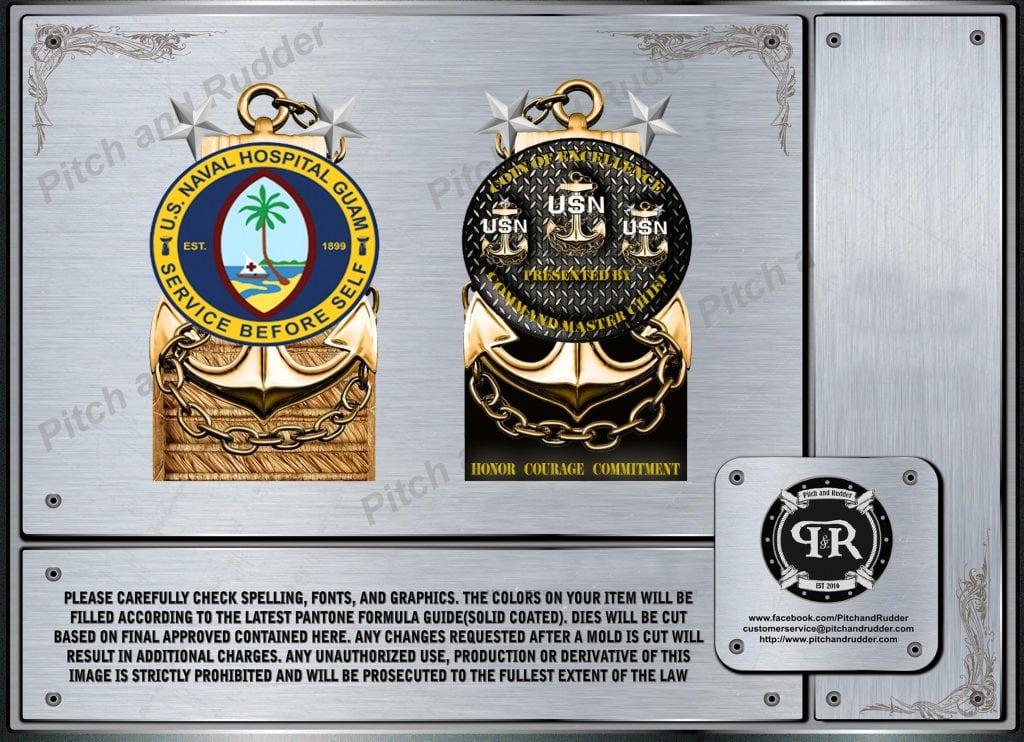 Guam CMC Custom Challenge Coin
