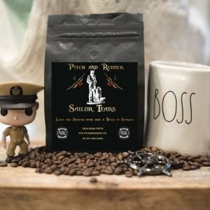 veteran owned coffee, navy chief coffee, navy joe coffee, pitch and rudder coffee