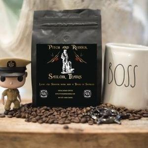 veteran owned coffee, navy chief coffee, navy joe coffee, pitch and rudder coffee