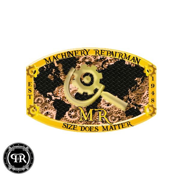Navy Machinery Repairman belt buckle, RM belt buckle, RM buckle, Chief RM Belt Buckle
