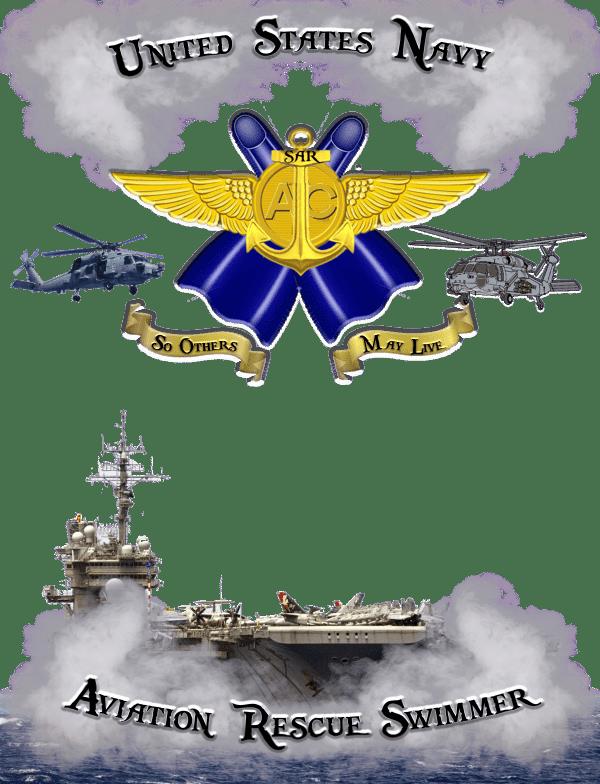 Navy Sar Shirt, Sar Swimmer, Navy Sar, US Navy Sar