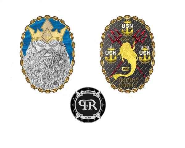 Navy chief challenge coin, cpo challenge coin, us navy challenge coin, cpo coin, chief mess coin, cpoa coin, custom navy chief coin