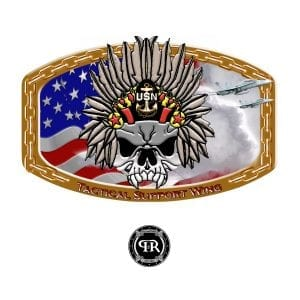 custom military belt buckle