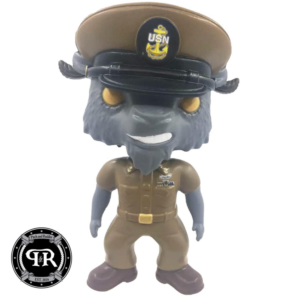 Funko Style Bobble Head - Chief, Senior Chief or Master Chief Goat | Pitch  and Rudder